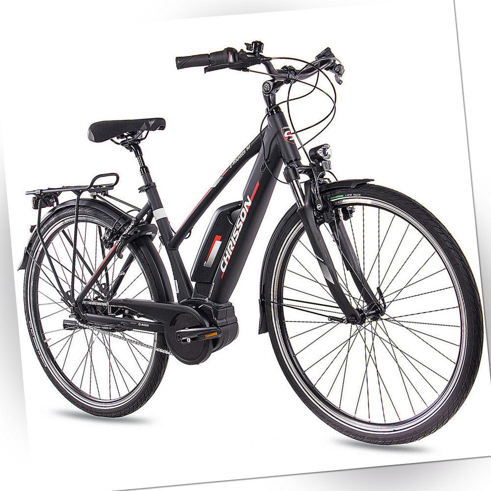 28 Zoll E-Bike Citybike Damen CHRISSON E-ROUNDER 7G Shimano Rücktritt BOSCH 400