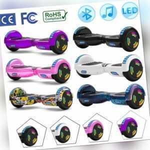 Hoverboard 6,5 Zoll Bluetooth Elektro Scooter Selbst Balance Board ElektroRoller