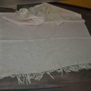 Decke rosa Mohair Mohairdecke Wolldecke 160 cm x 130 cm neuwertig