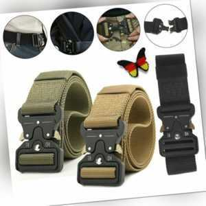 Militär Taktisch Gürtel Military Outdoor Sport Tactical Nylon Waistband Belt