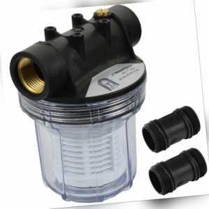 """1"""" vorfilter wasserfilter filter pumpe Kreiselpumpe Gartenpumpe hauswasserwerk"""