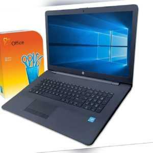 "HP Notebook 17"" HD+/ Intel N4020 / 4GB / 1TB / DVD-RW / Win10 / Office / Laptop"