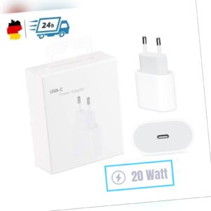 Für Apple iPhone 12 Pro Max Ladegerät Netzteil 20W USB-C iPad Power Adapter OVP