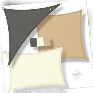 hanSe® Sonnensegel 100% Polyester PES Sonnenschutz Marken-Sonnensegel
