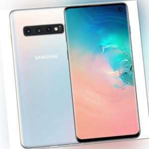 Samsung Galaxy S10 128GB Smartphone prism white, Android...