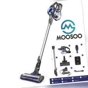 MOOSOO XL-618 4 in 1 HEPA Akku Staubsauger HandStaubsauger Beutellos Kabellos DE