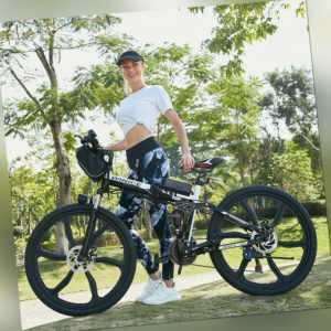 Elektrofahrrad Mountainbike ebike 26 Zoll E-Bike 250W Motor Klapprad Pedelec DHL