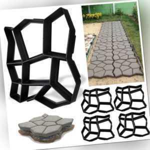 Pflasterform DIY Rasen Terrasse Schalungsform Natursteinpflaster 1-5x Garten