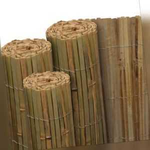 Sichtschutz Zaun Windschutz Zaunblende Sichtschutzzaun Bambus Sichtschutzmatte