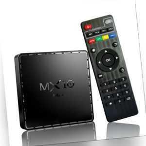 6K MX10 Mini Android 10.0 Smart TV Box Allwinner H616 2.4G & 5G WiFi BT4.2 Q2F2