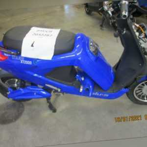 blu: s XT2000 STALKER 25 km / h blauer Elektroroller E-Scooter ...
