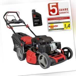 Scheppach Benzin Rasenmäher MS225-53E 7PS mit Antrieb + E-Start 53cm 0,6 L Öl