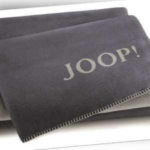 JOOP! Melange Doubleface Wohn- Kuscheldecke 150x200 cm