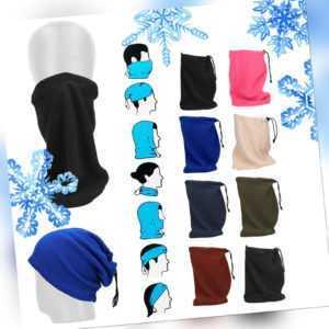 Winter Schlauchschal Alltagsmaske Mund Nase Bedeckung Maske Gesichtsmaske warm