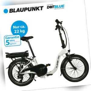 Blaupunkt Clara 400 | E-Bike, Klapprad, Pedelec, Klappfahrrad