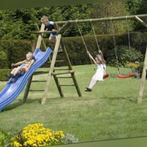 Schaukel Classic 4.2 Kinderspielgerät Palisaden Kinderschaukel Klettern Holz NEU