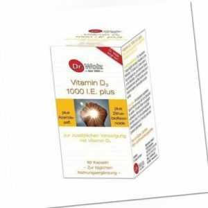 VITAMIN D3 1000 I.E. plus Dr. Wolz   60 st   PZN6562124