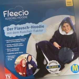 Fleecio Kuschel-Hoodie der Flausch Hoodie mit Kuschel Faktor mit