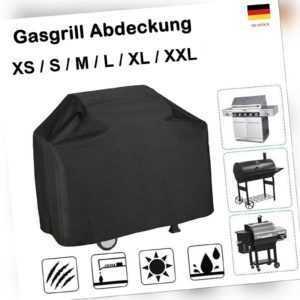 XS-XXL Grillabdeckung Gasgrill Abdeckung BBQ Schutzhülle Regenschutz Haube 2021