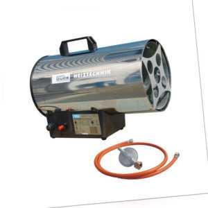 Güde Gas Heizgebläse Heizkanone Gasheizer Gasgebläse GGH 10 INOX Strahler New58