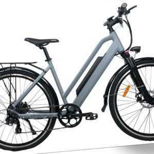 Citybike E-Bike Trekking Elektrofahrrad Pedelec Trekkingrad Damen 28Zoll Shimano