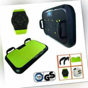 Vibrationsboard Vibrationsplatte Vibrationstrainer Fitness DVD Griff Vibro