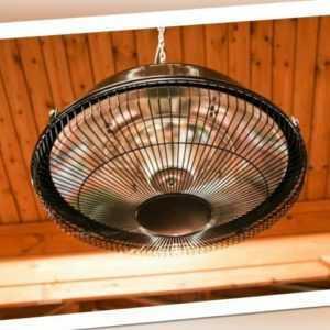 Terrassenstrahler Heiz Strahler Wärmestrahler Hängelampe 1500W Watt Verona