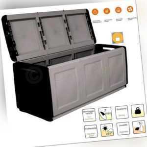 Garten Aufbewahrungsbox 330 L Terrasse Wasserdicht Auflagen Kissen Box Kiste XXL