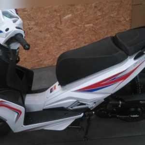 Luxxon F18 45 weißer Roller 50 Roller 50 ccm