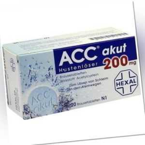 ACC akut 200 Brausetabletten  20St 6302311