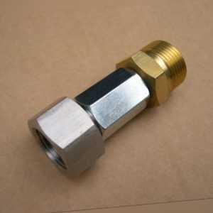 Adapter M22 AG auf M18 IG Kärcher Kränzle Hochdruckreiniger Lanze Dampfstrahler