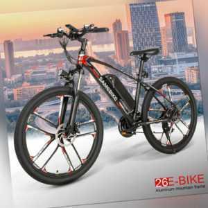 SAMEBIKE 26 Zoll Elektrofahrrad E-Bike Mountainbike CityBike Radfahren 30km/h EU