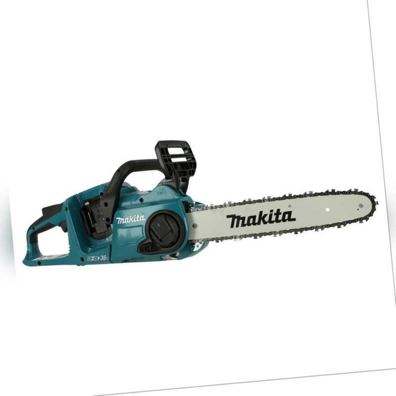 Makita Akku Kettensäge DUC353Z 2x 18V Schwertlänge 38cm & Kettenschnellspannung