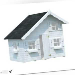 Palmako Kinderspielhaus Jerry 3,8 m² KInder Schlafboden Spielhaus Tom 220x180cm