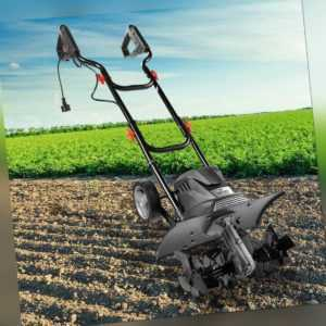BRAST elektrische Motorhacke Ackerfräse Kultivator Gartenfräse elektro 1200 Watt