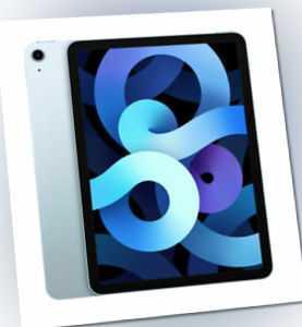 Apple iPad Air (2020), 64GB, WiFi, Sky Blue MYFQ2FD/A