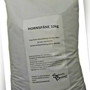 10kg Hornspäne Organischer Bio Gartendünger Dünger Naturdünger Bio Landbau TOP