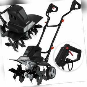MASKO® elektrische Motorhacke 1500 Watt Ackerfräse Kultivator Gartenfräse Hacke