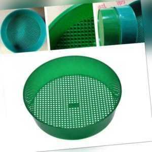Gartensieb Rätsel Grün für Composy Stone Soil Mesh Kunstst aus Gartengeräte L0Z1