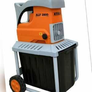 ATIKA ALF 2800 Walzenhäcksler Gartenhäcksler Elektrohäcksler   230V   2800W