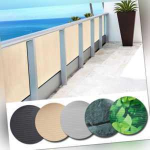 Balkonsichtschutz Doppelseitige Beschichtung Sonnenschutz Balkonbespannung