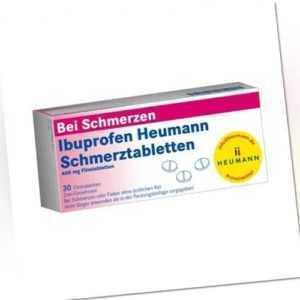 IBUPROFEN Heumann Schmerztabletten 400 mg 30 St 10201099