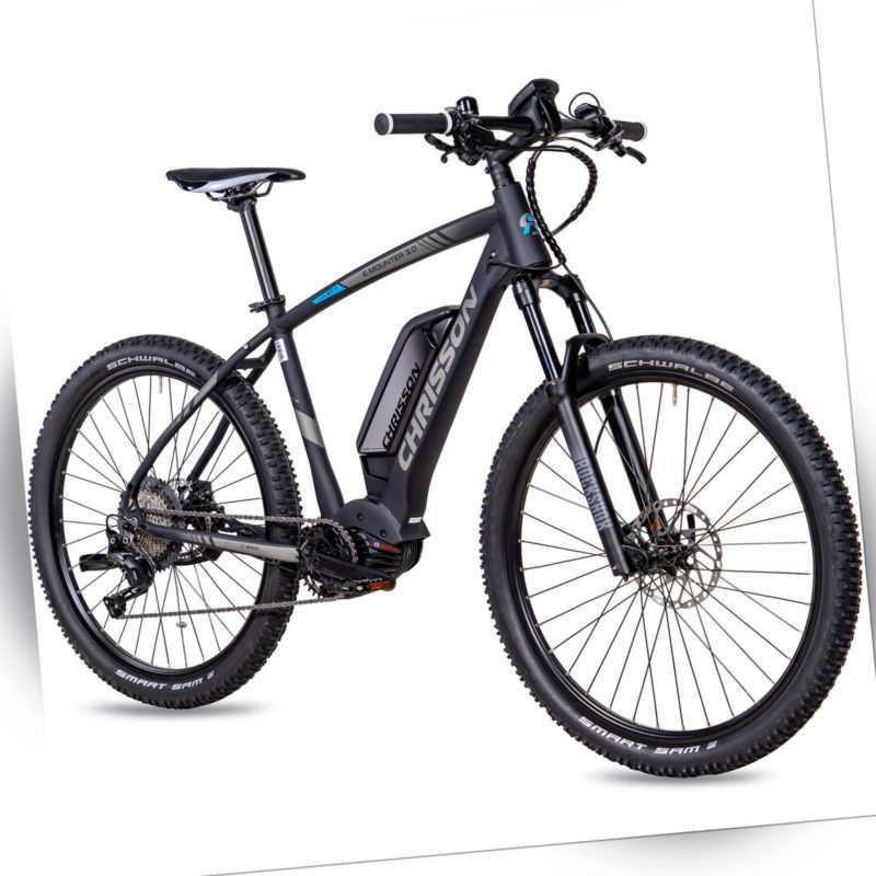 27,5 Zoll E-Bike CHRISSON E-MOUNTER 3.0 11G DEORE XT BOSCH CX Gen4 500Wh schwarz