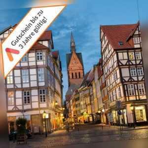 Kurzreise Hannover Laatzen Messe 4 Tage im 3 Sterne Hotel 2 Personen Gutschein