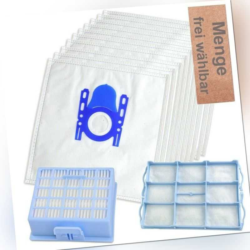 Auswahl Staubsaugerbeutel Hepa Filter passend für Siemens VS06A111 synchropower