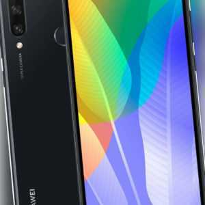 Huawei Y6p 64GB Dual Sim Midnight Black
