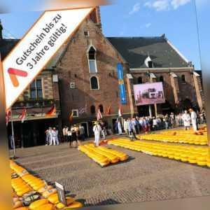Kurzreise Alkmaar Niederlande 3 oder 4 Tage für 2 Personen Top Hotel Gutschein
