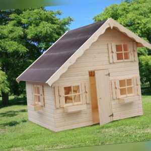 Palmako Kinderspielhaus Tom 220 x 180 cm Spielhaus Gartenhaus Kinderhaus Kinder
