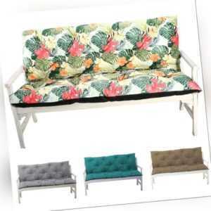 Gartenbankauflage Hollywoodschaukeln Bankauflage Sitzkissen und Rückenkissen