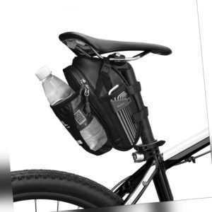 Wasserfeste Fahrradsatteltasche mit reflektierendem Design Radfahren unter H7L7